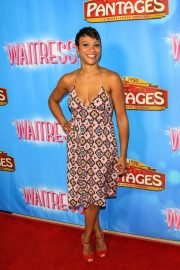 CARLY HUGHES at Waitress National Tour at Hollywood Pantages Theatre 2018/08/03 2