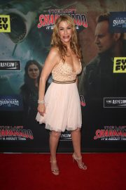 Caroline Williams at The Last Sharknado: It's About Time Premiere in Los Angeles 2018/08/19 2