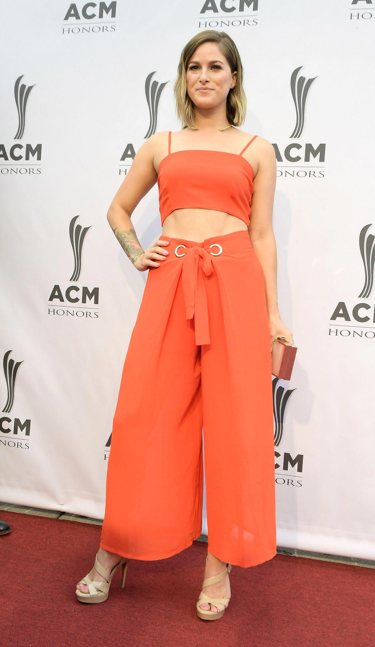 Cassadee Pope at 2018 ACM Honors in Nashville 2018/08/22 1