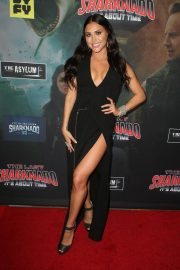 Cassie Scerbo at The Last Sharknado: It's About Time Premiere in Los Angeles 2018/08/19 2