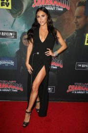 Cassie Scerbo at The Last Sharknado: It's About Time Premiere in Los Angeles 2018/08/19 7