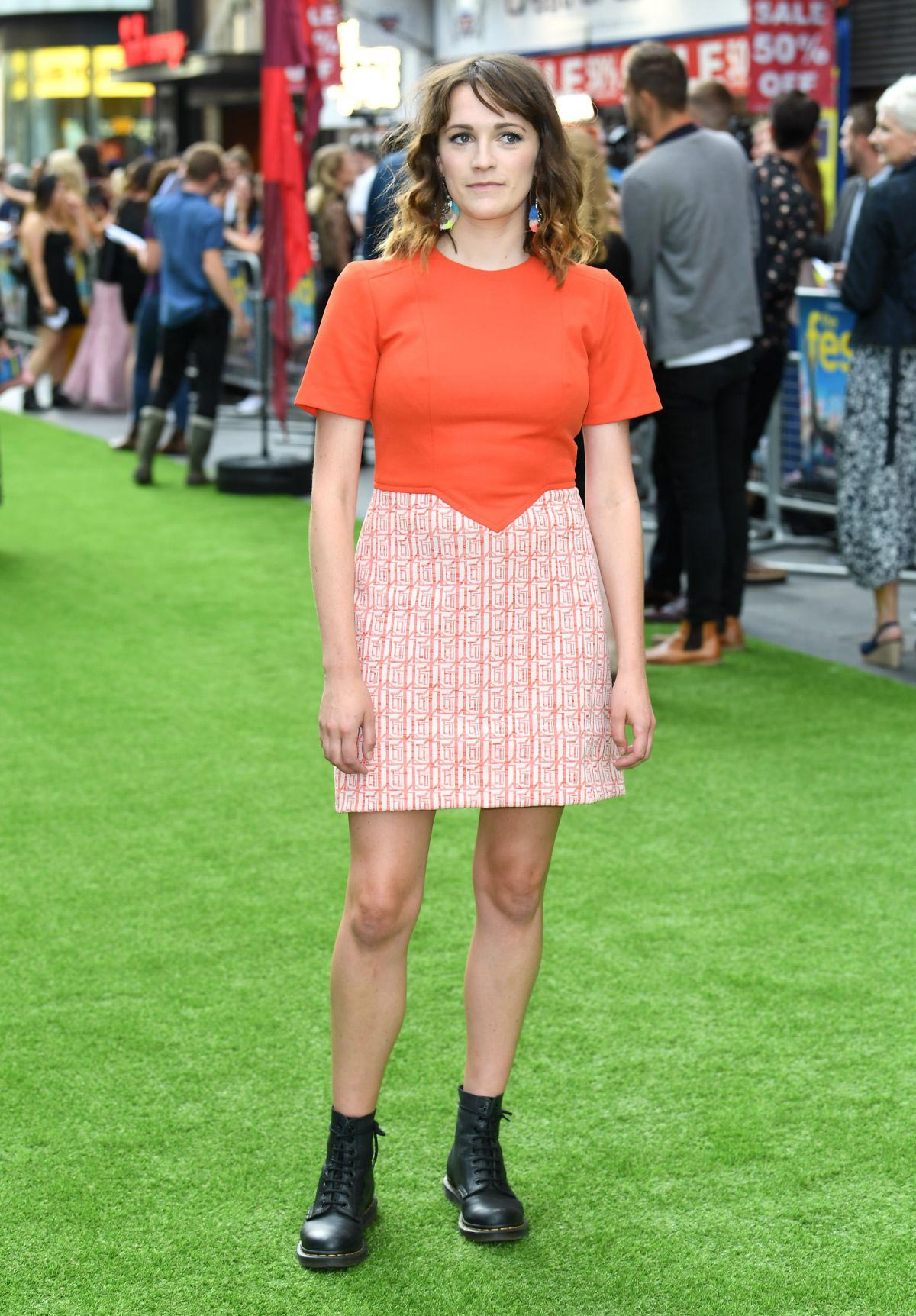Charlotte Ritchie at The Festival Premiere in London 2018/08/13 1