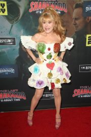 Charo at The Last Sharknado: It's About Time Premiere in Los Angeles 2018/08/19 11