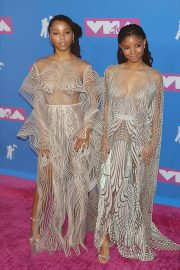 Chloe Bailey and Halle Bailey at MTV Video Music Awards in New York 2018/08/20 5