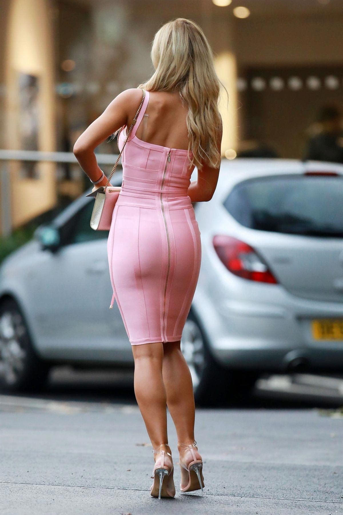 Christine McGuinness on the Set of Real Housewives of Cheshire in Wilmslow 2018/08/23 1