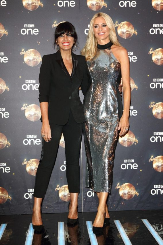Claudia Winkleman and Tess Daly at Strictly Come Dancing Launch in London 2018/08/27 1