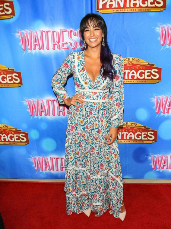 Courtney Reed at Waitress National Tour at Hollywood Pantages Theatre 2018/08/03 1