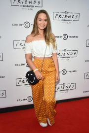 Daisy Wood-Davis at Comedy Central's Friendsfest in Manchester 2018/08/07 1