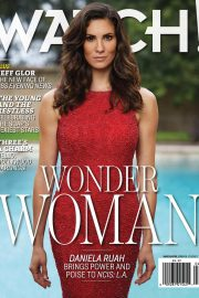 Daniela Ruah in CBS Watch! Magazine, March/April 2018 Issue 19