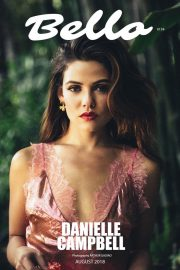 Danielle Campbell in Bello Magazine, August 2018 Issue 1