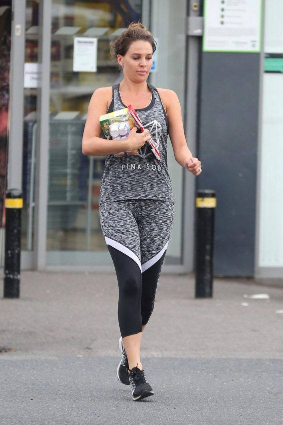 Danielle Lloyd Heading to a Gym in Birmingham 2018/08/14 1