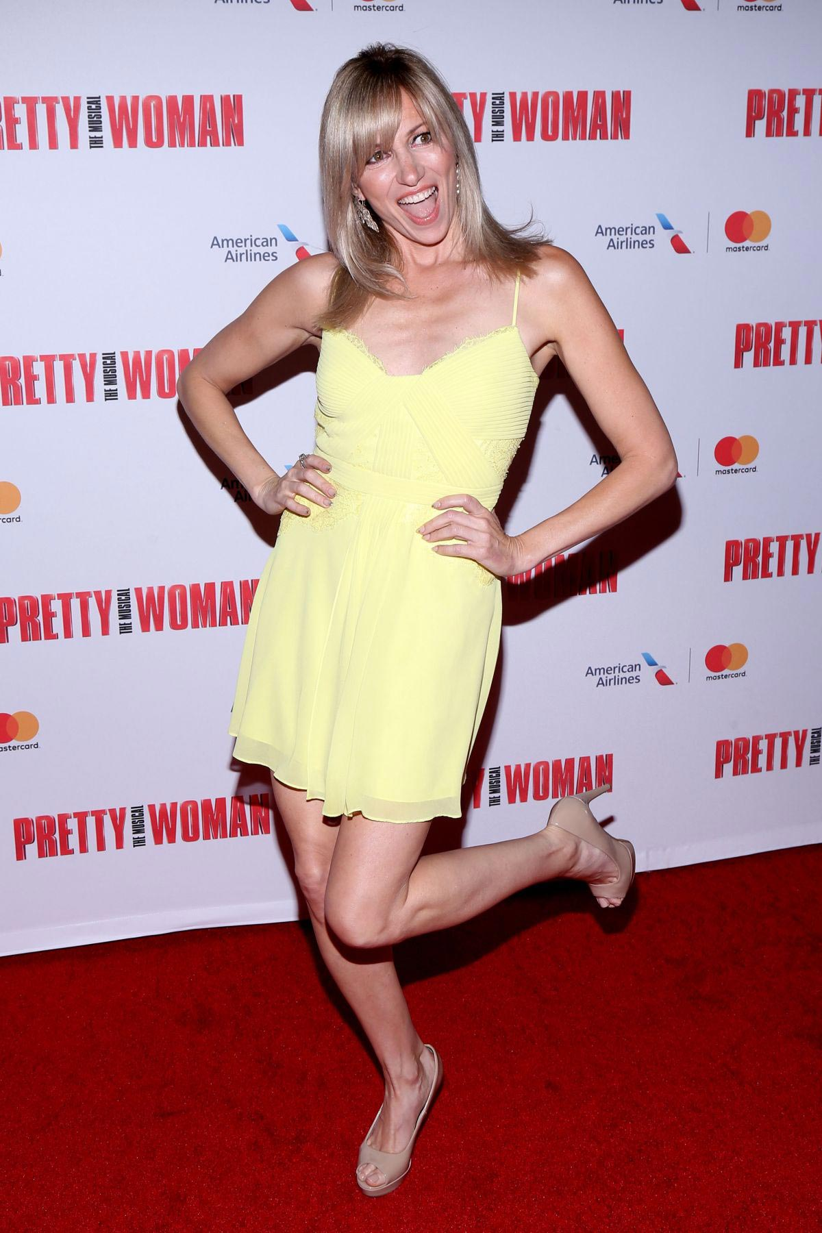 Debbie Gibson at Pretty Woman the Musical at Nederlander Theatre in New York 2018/08/16 1