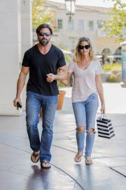 Denise Richards and Aaron Phypers Out in Calabasas 2018/08/14 7
