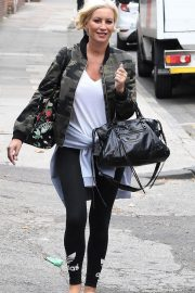 Denise van Outen Out and About in London 2018/08/15 2