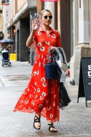 Dianna Agron Out and About in New York 2018/08/14 1