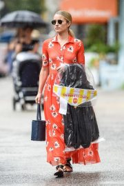 Dianna Agron Out and About in New York 2018/08/14 2