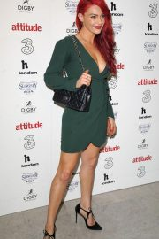 Dianne Buswell at Attitude 300 Celebrating with Three in London 2018/08/16 1
