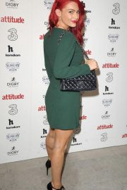 Dianne Buswell at Attitude 300 Celebrating with Three in London 2018/08/16 6