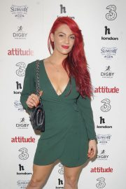 Dianne Buswell at Attitude 300 Celebrating with Three in London 2018/08/16 7