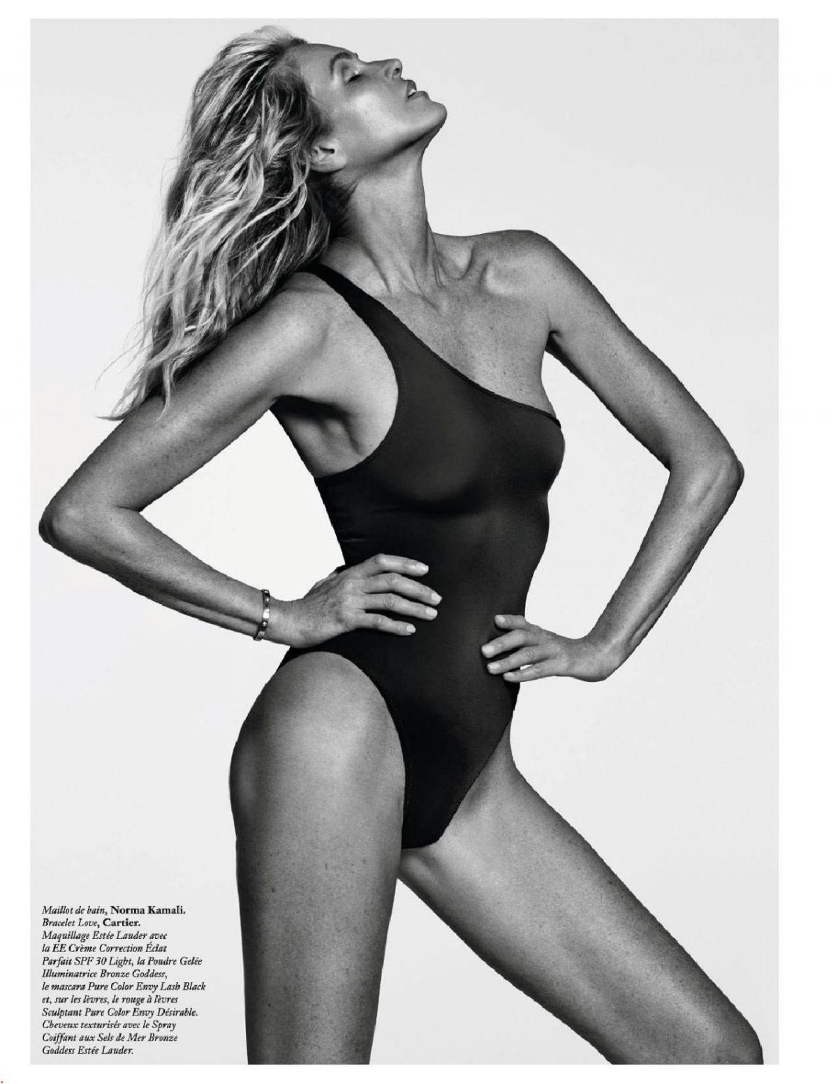 Elle Macpherson in Vogue Magazine, France September 2018 1
