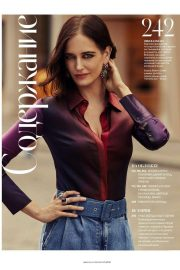 Eva Green in Instyle Magazine, Russia September 2018 Issue 1