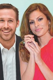 Eva Mendes and Ryan Gosling in Ok! Magazine, July 2018 Issue 2