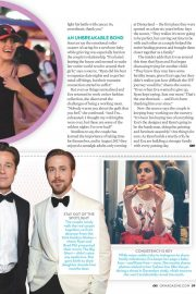 Eva Mendes and Ryan Gosling in Ok! Magazine, July 2018 Issue 4