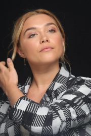 Florence Pugh at The Little Drummer Girl Press Conference in Los Angeles 2018/08/01 6