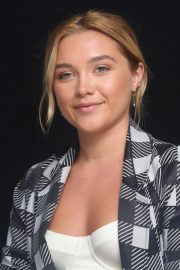 Florence Pugh at The Little Drummer Girl Press Conference in Los Angeles 2018/08/01 8