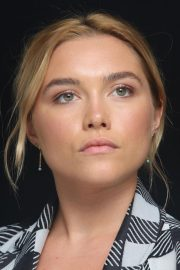Florence Pugh at The Little Drummer Girl Press Conference in Los Angeles 2018/08/01 13