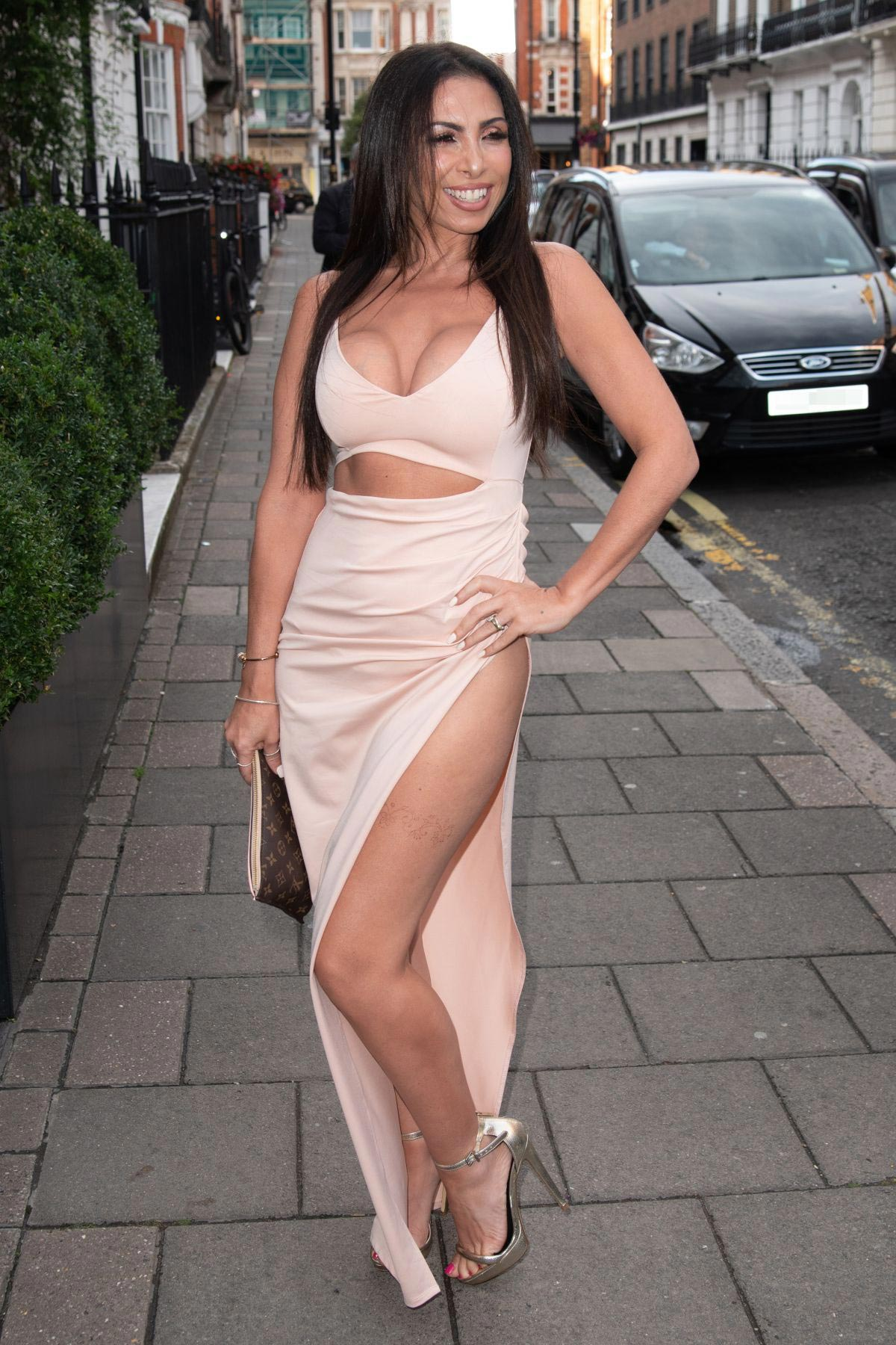 Francine Lewis at Kiss Nails and Lashes x Billie Faiers Launch Party in London 2018/08/16 1