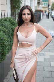 Francine Lewis at Kiss Nails and Lashes x Billie Faiers Launch Party in London 2018/08/16 3