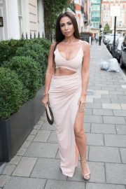 Francine Lewis at Kiss Nails and Lashes x Billie Faiers Launch Party in London 2018/08/16 4