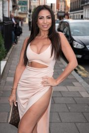 Francine Lewis at Kiss Nails and Lashes x Billie Faiers Launch Party in London 2018/08/16 5