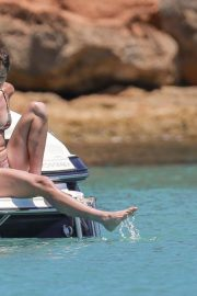 Garbine Muguruza in Bikini at a Boat in Ibiza 2018/08/08 5