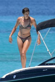 Garbine Muguruza in Bikini at a Boat in Ibiza 2018/08/08 22