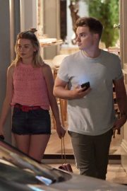 Georgia Toffolo and Jack Maynard Out for Dinner in London 2018/07/24 2