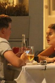 Georgia Toffolo and Jack Maynard Out for Dinner in London 2018/07/24 7