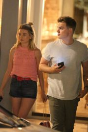 Georgia Toffolo and Jack Maynard Out for Dinner in London 2018/07/24 11