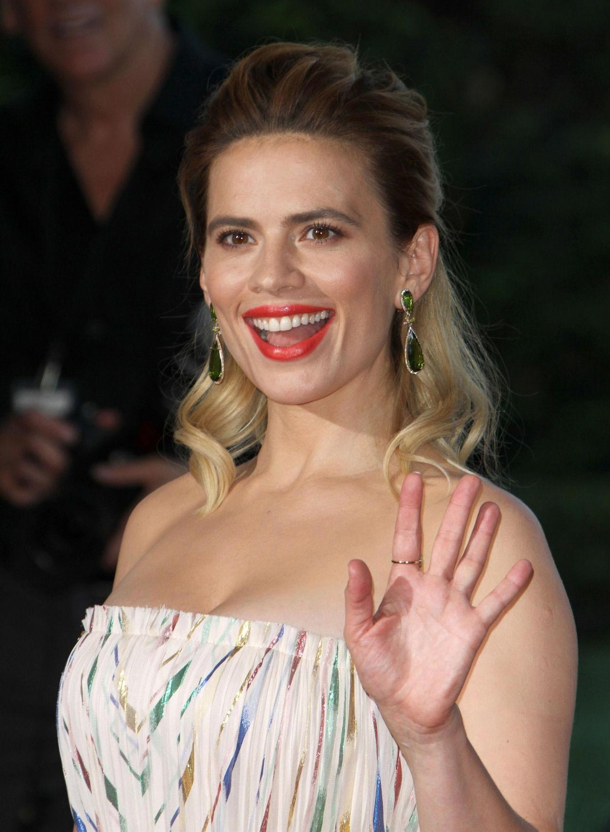 Hayley Atwell at Christopher Robin Premiere in Los Angeles ...