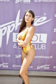Heather Vahn in Swimsuit Hosts Day at Sapphire Pool & Dayclub in Las Vegas 2018/08/18 5