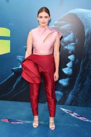 Holland Roden at The Meg Premiere in Hollywood 2018/08/06 10