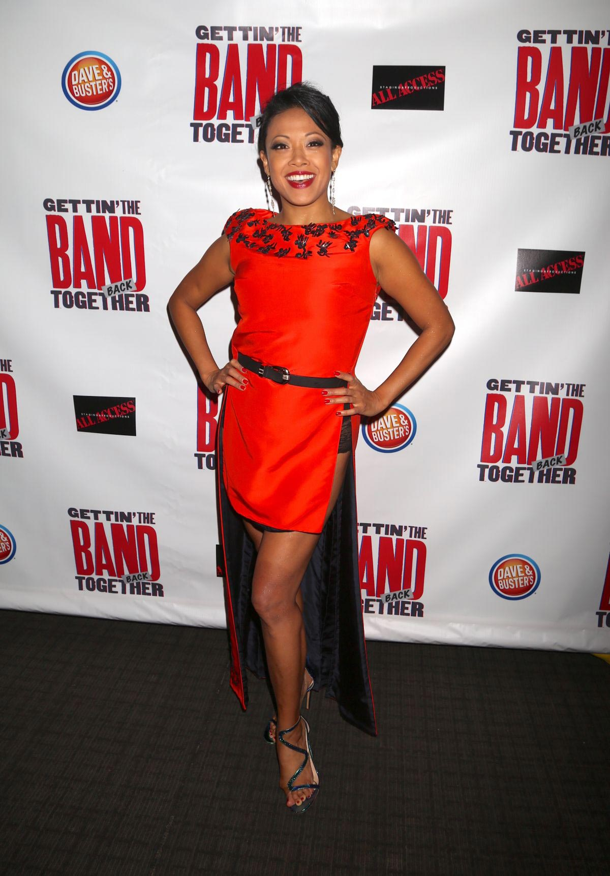 J. Elaine Marcos at The Band Back Together Opening Night in New York 2018/08/13 1