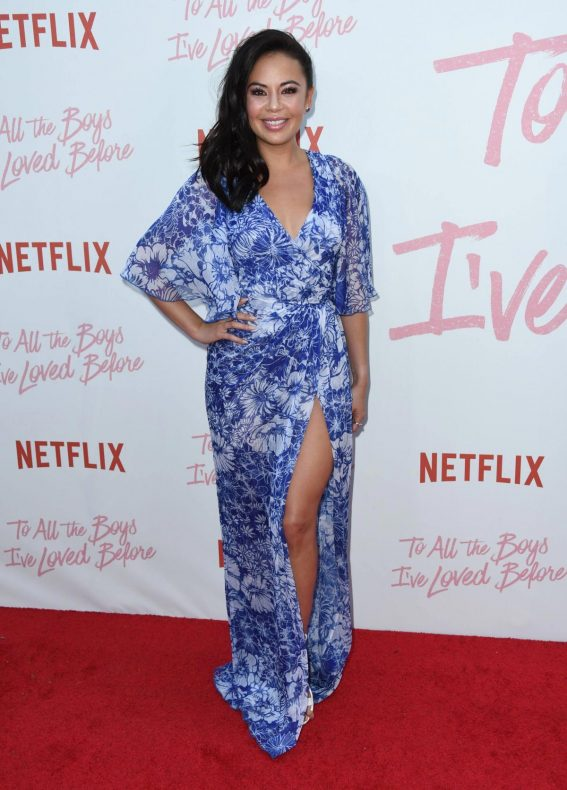 Janel Parrish at To All the Boys I've Loved Before Screening in Los Angeles 2018/08/16 1