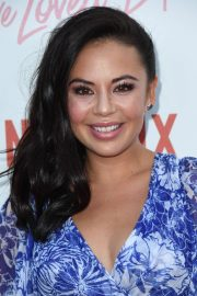 Janel Parrish at To All the Boys I've Loved Before Screening in Los Angeles 2018/08/16 2