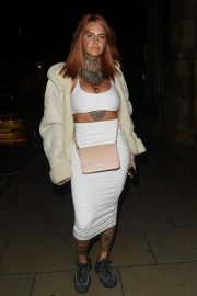 Jemma Lucy at Rosso Restaurant in Manchester 2018/08/25 4