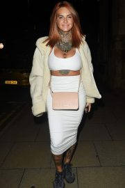 Jemma Lucy at Rosso Restaurant in Manchester 2018/08/25 8