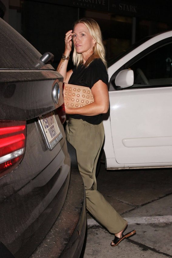 Jennie Garth Leaves Craig's Restaurant in West Hollywood 2018/07/27 1