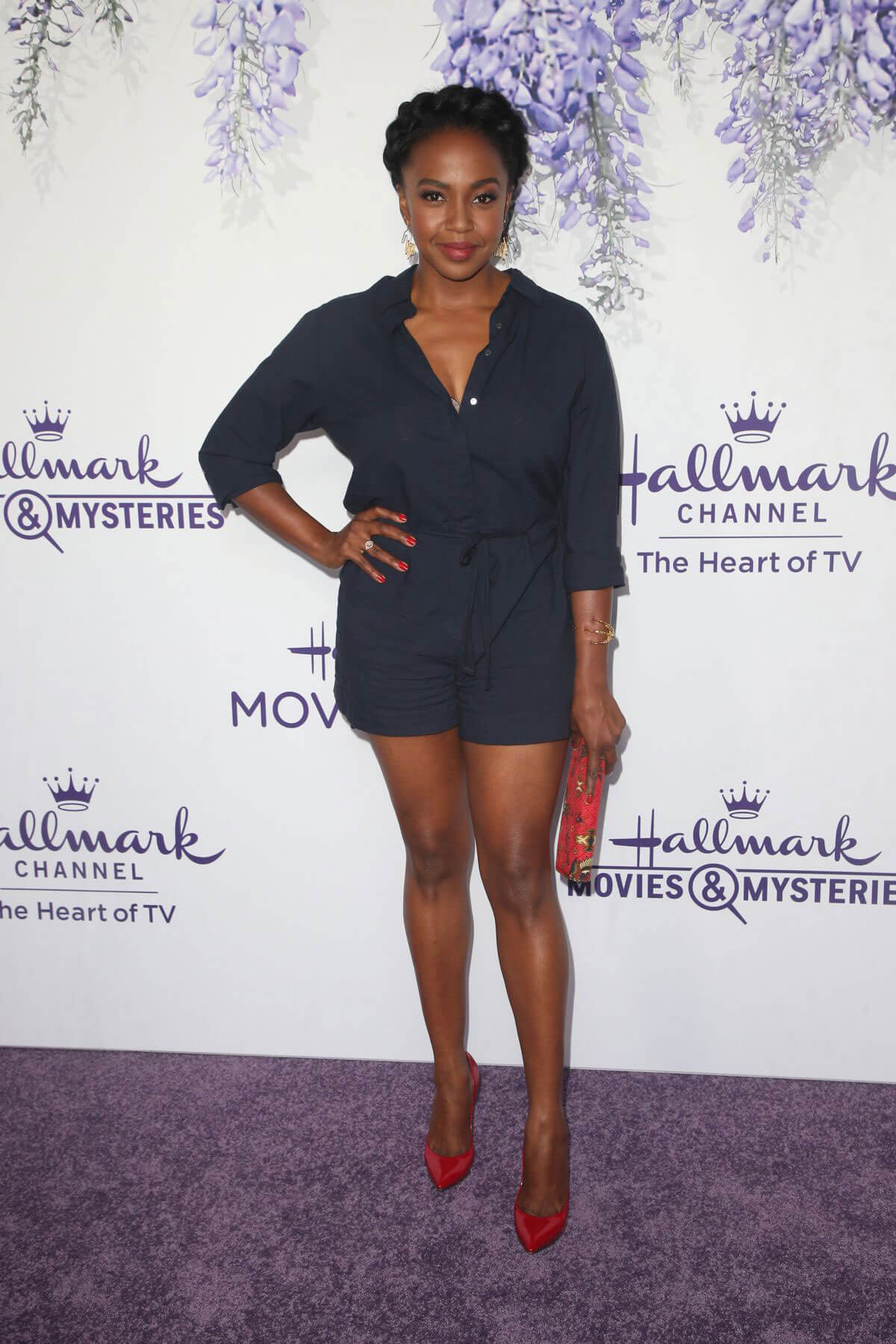 Jerrika Hinton at Hallmark Channel Summer TCA Party in Beverly Hills 2018/07/27 1