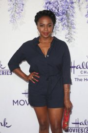 Jerrika Hinton at Hallmark Channel Summer TCA Party in Beverly Hills 2018/07/27 2